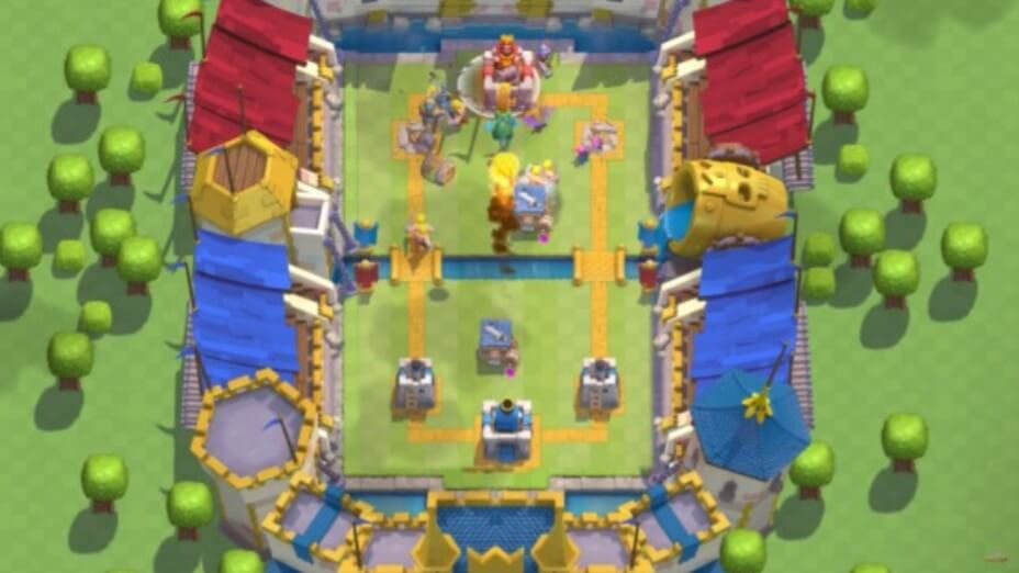 Tower Defense Strategy Clash Royale
