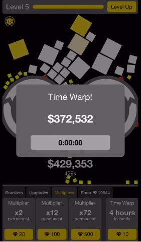 Will It Crush? Time Warp