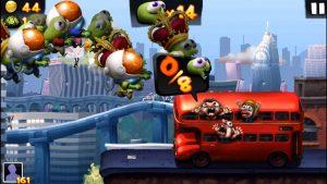 zombie tsunami attacking the bus