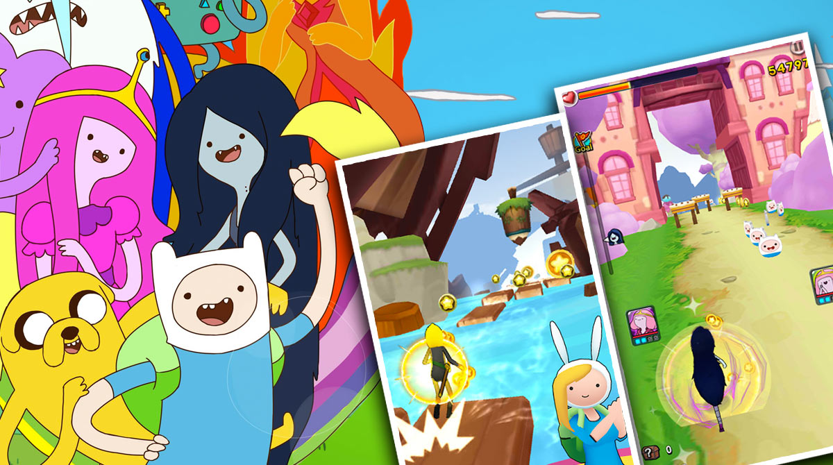 Adventure Time surfers PC free