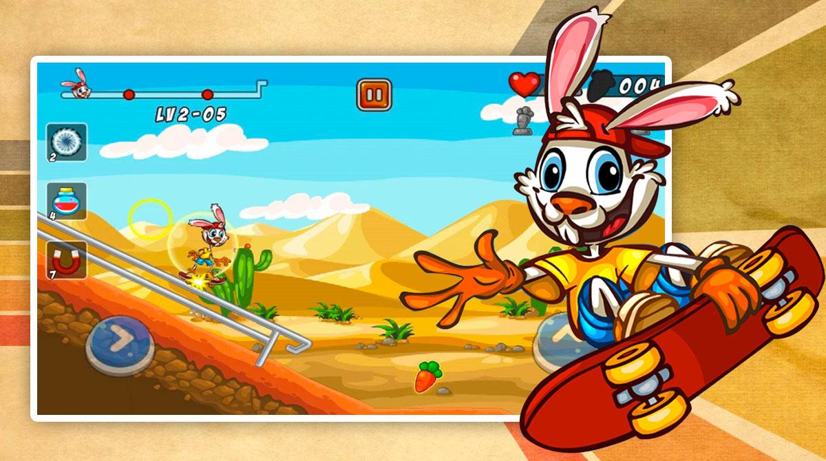 Bunny Skater download free