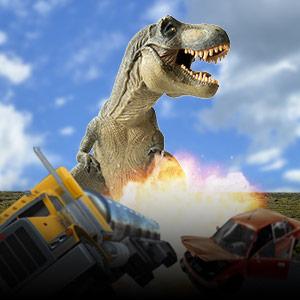 Play Dino Grand City Simulator on PC
