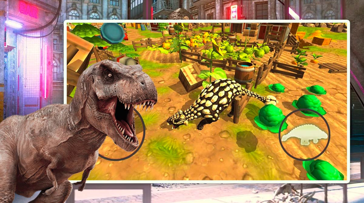 Dinosaur simulator dino world download PC