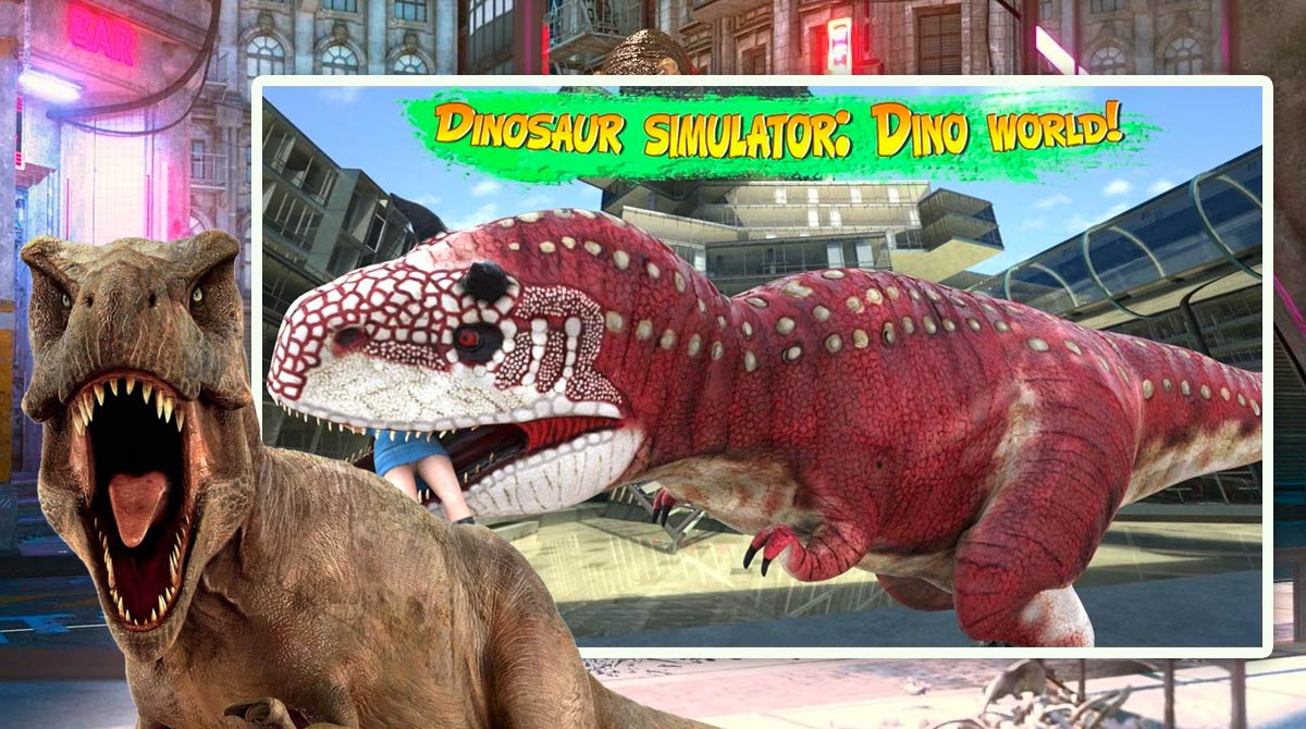 Dinosaur simulator dino world download free