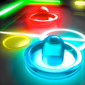 Play Glow Hockey 2 on PC