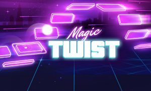 Play Magic Twist: Twister Music Ball Game on PC