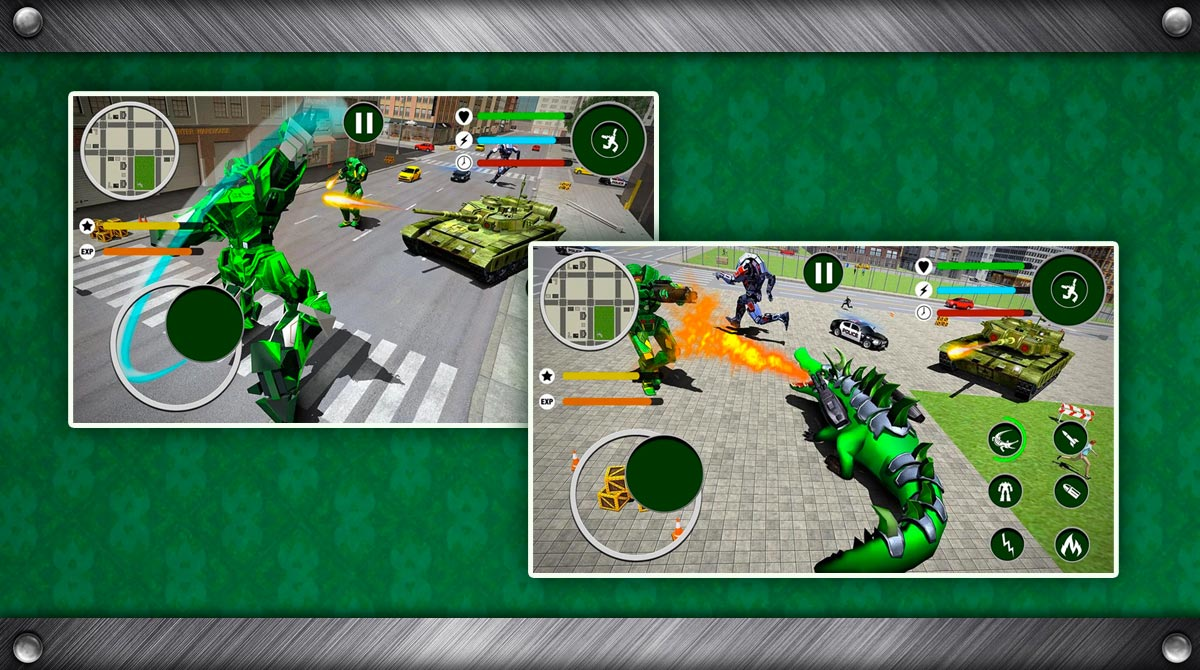 Real Robot Crocodile download full version