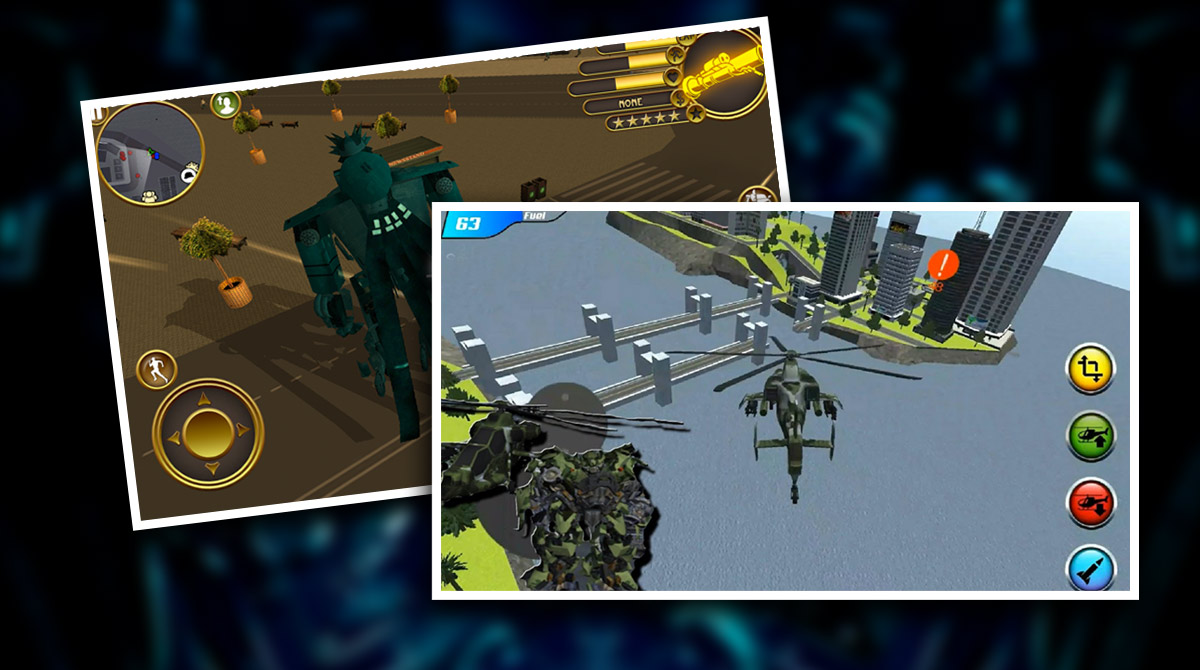 Robot Helicopterdownload PC