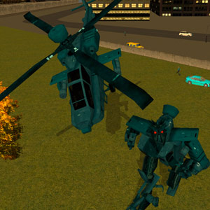 Play Robot Helicopter on PC