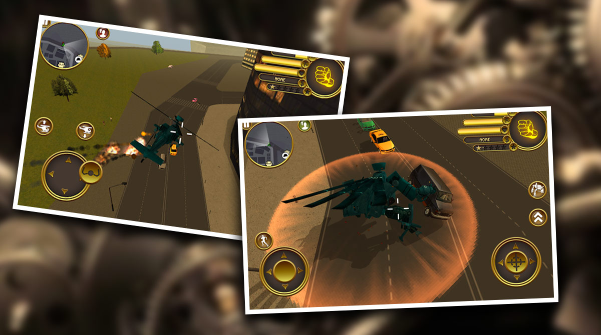 Robot Helicoptersurfers PC free