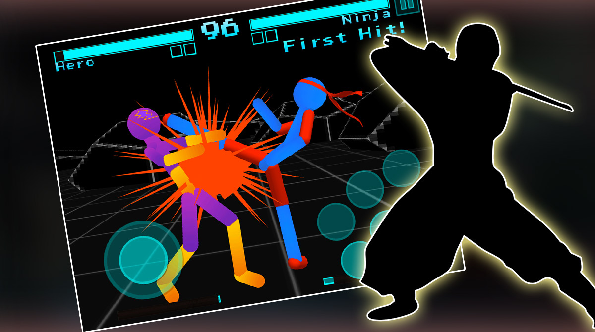 Stickman NeonWarriors download full version 2