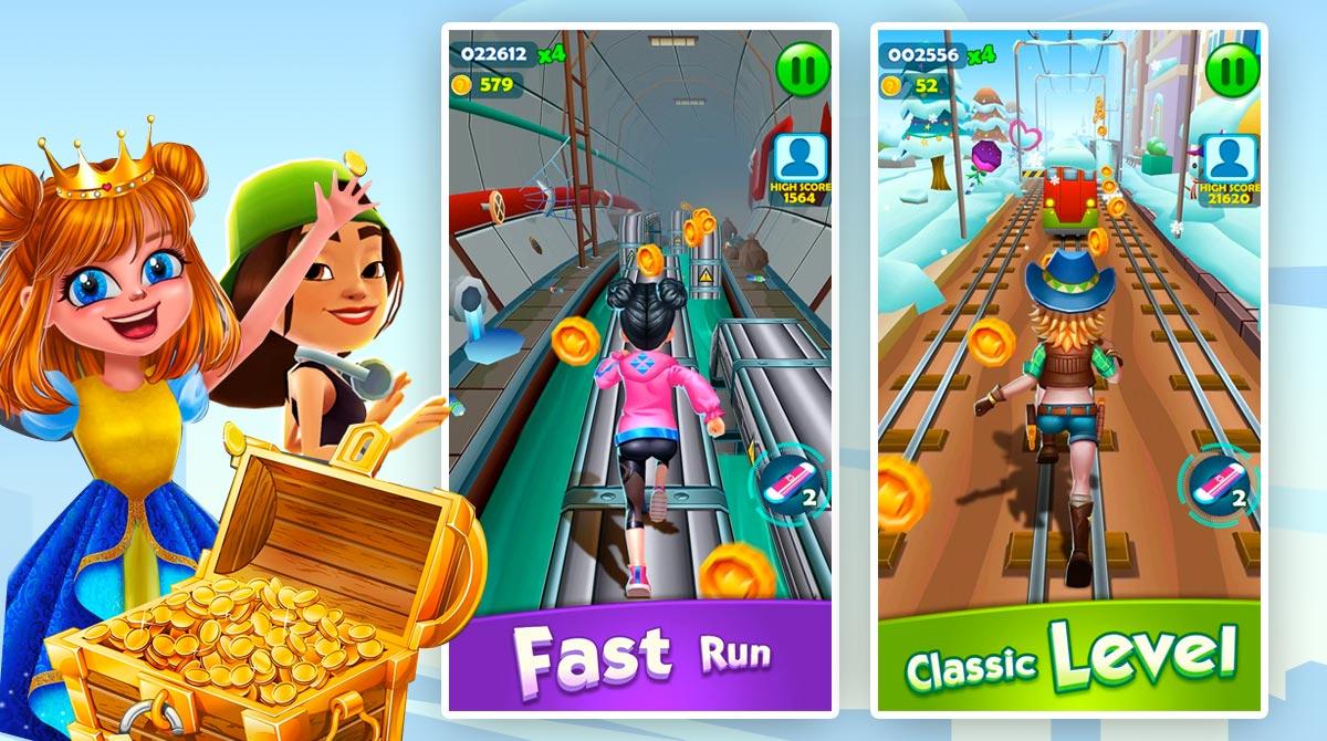 Subway Princess Runner PC free