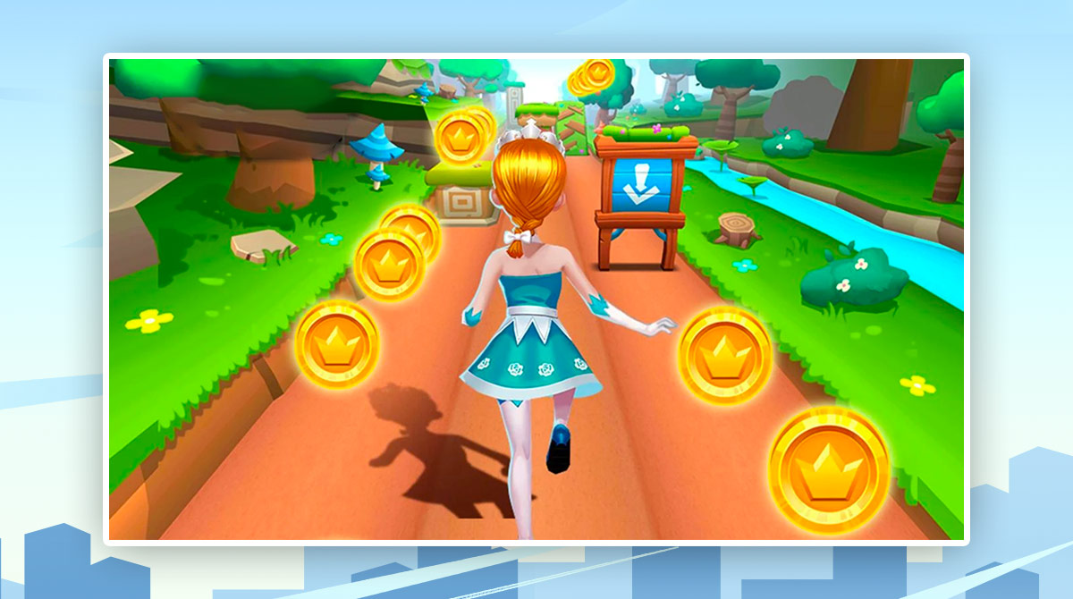 Subway Princess Runner download free