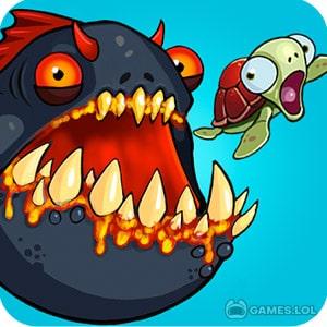 Play Eatme.io: Hungry fish fun game on PC