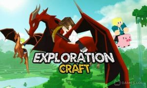 Play Exploration Craft 3D on PC
