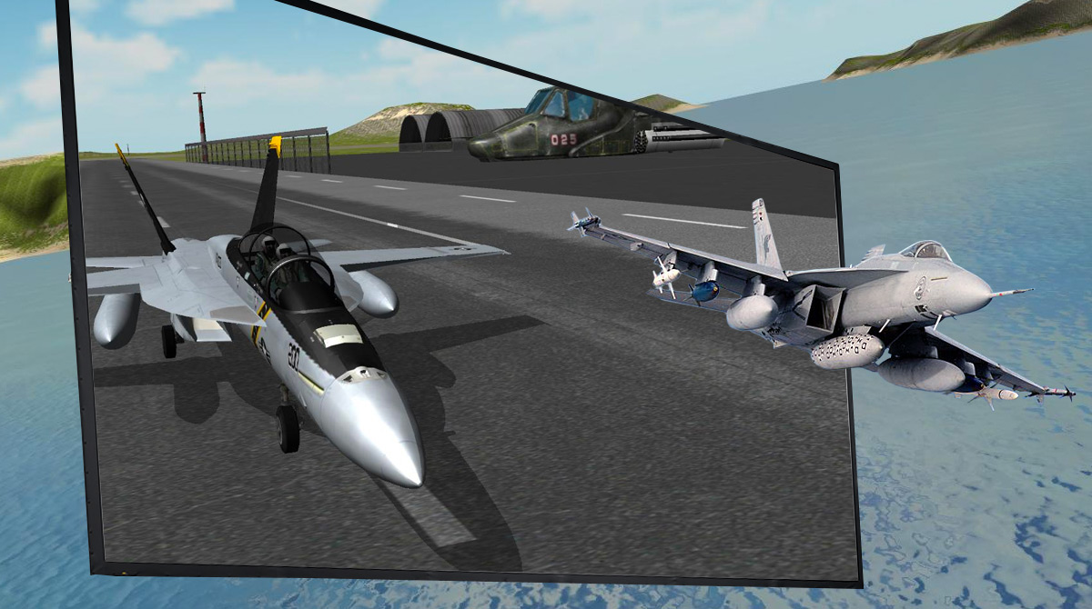 f18 airplane simulator download PC free