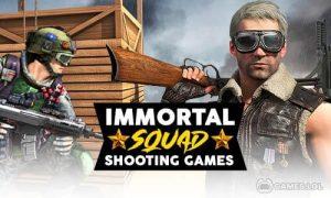 Play Immortal Squad Shooting Games: Free Gun Games 2020 on PC