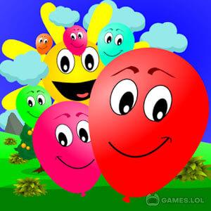 Play Kids Pop Balloon Bubble on PC
