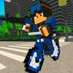 Play Police Block City on PC
