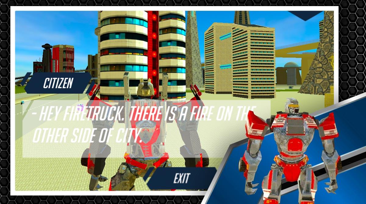 robot firetruck download PC