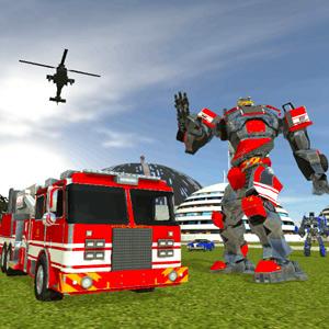 Play Robot Firetruck on PC