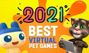 2021 orange splat virtual pets