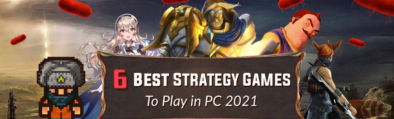 6 best free strategy games to play in pc