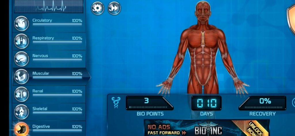 Bio Inc Hospital Game