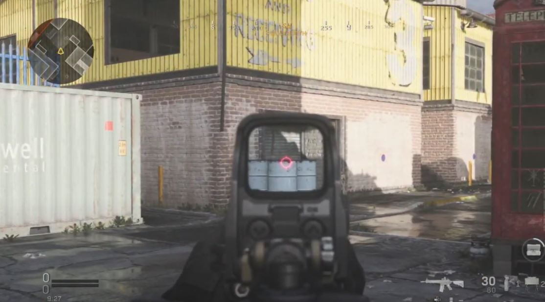 COD Drop shot issue