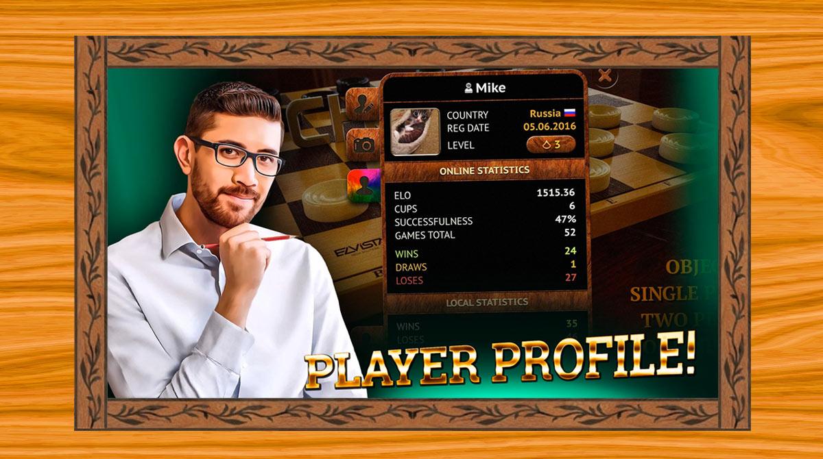 Checkers Online Elite download PC
