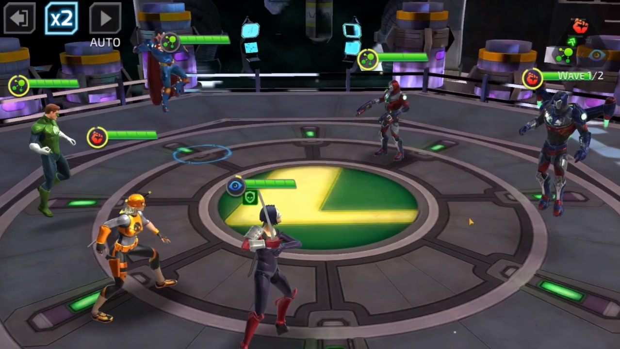 DC Legends Fight Superheroes gameplay