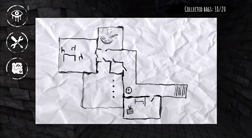 Eyes The Horror Game Map
