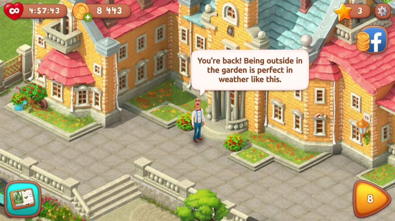 Gardenscapes Game