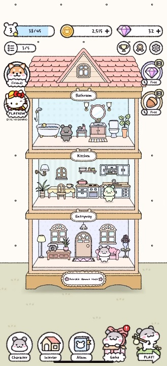 Hamster Town House