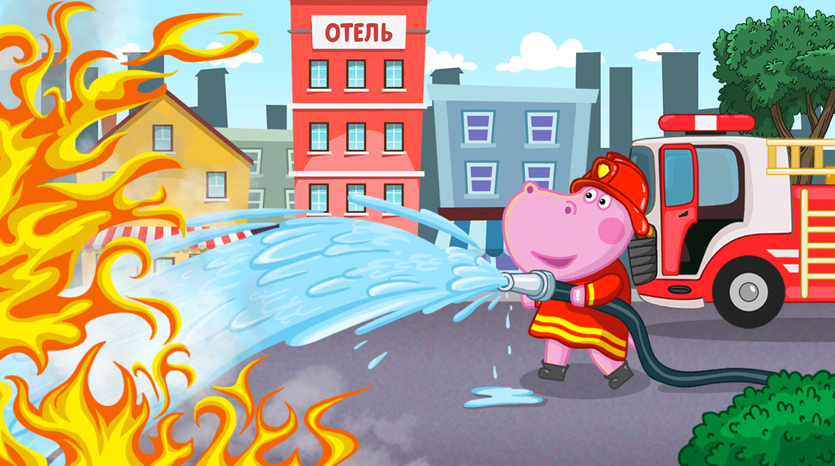 Hippo Fire Patrol PC free