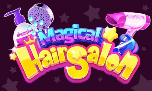 Play Magical Hair Salon: Girl Makeover on PC