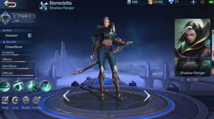Mobile Legends Benedetta