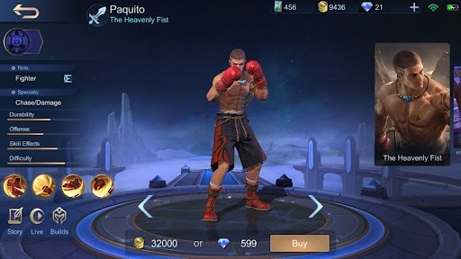 Mobile Legends Paquito