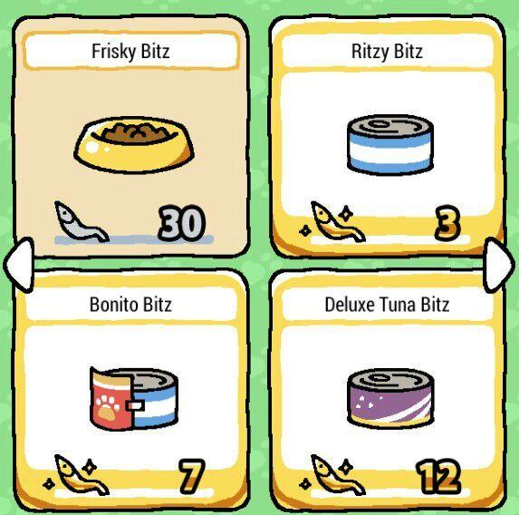 Neko Atsume Food Tips