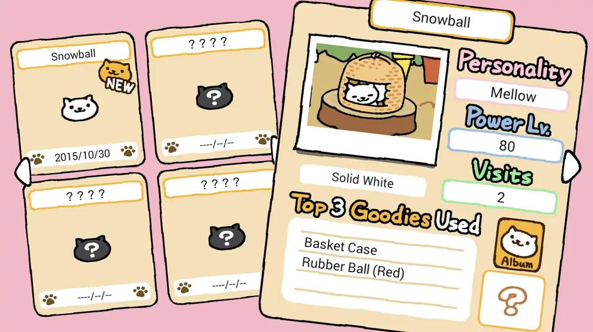Neko Atsume Game Pet
