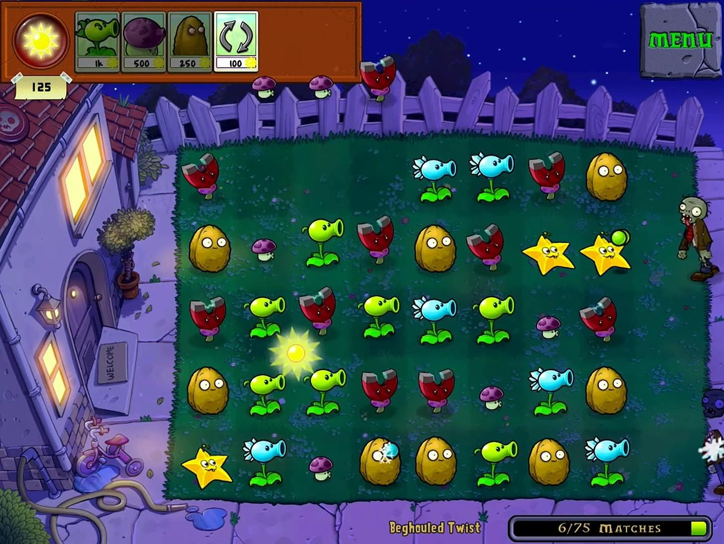 PVZ Gameplay