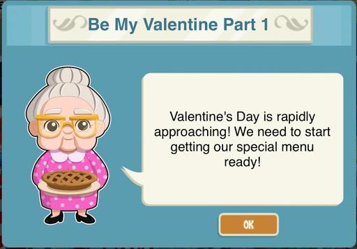 Restaurant Story Valentines