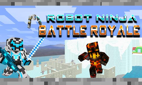 Play Robot Ninja Battle Royale on PC