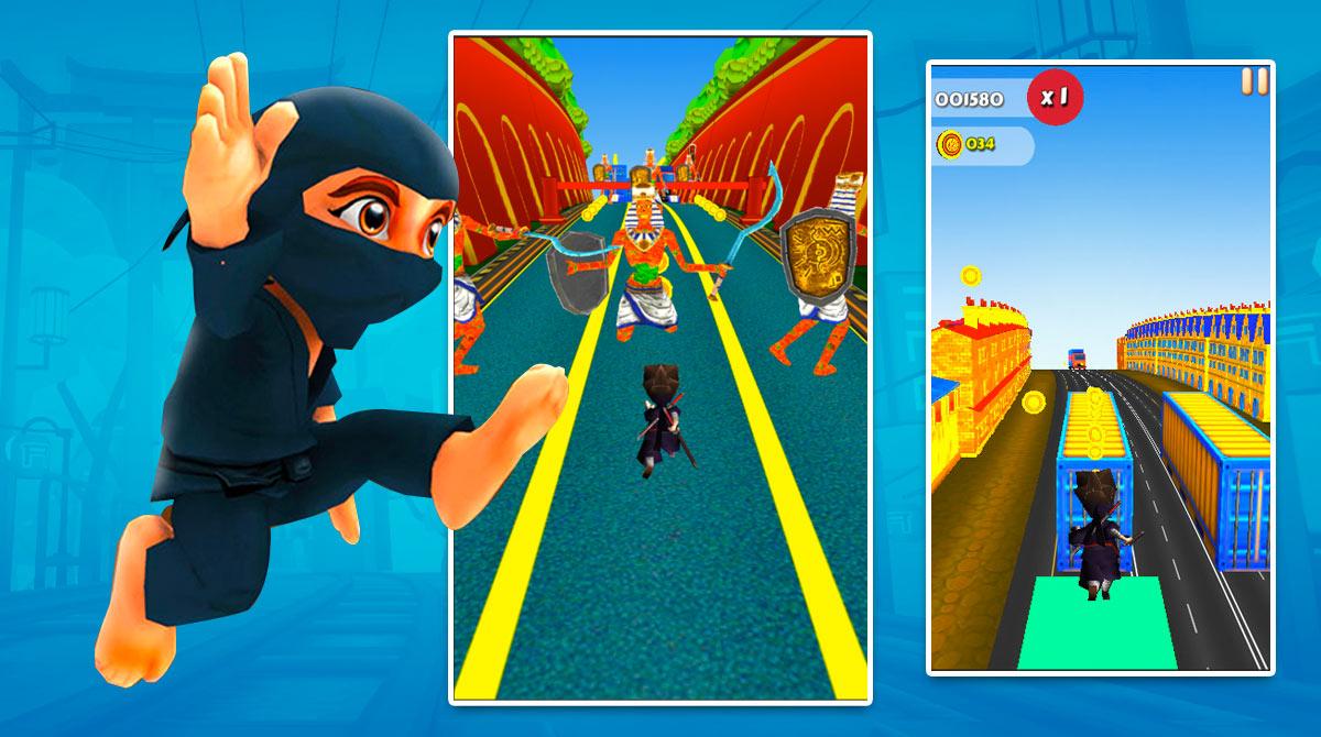 Run Subway Ninja download full version