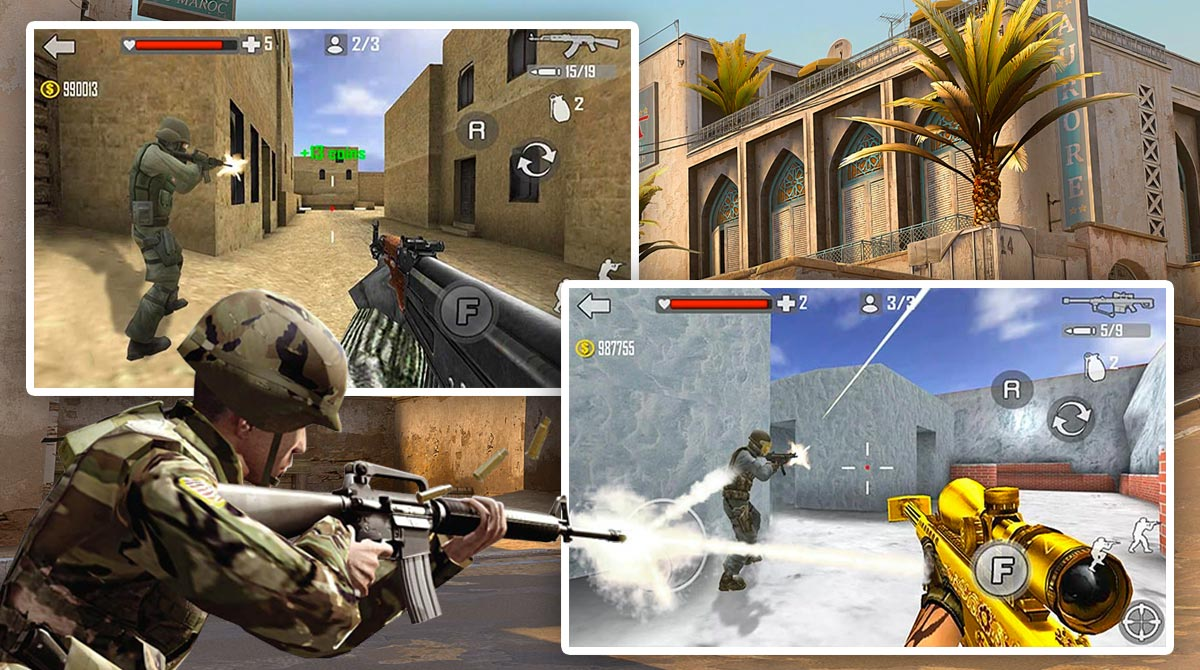 Shoot Strike War Fire download full version