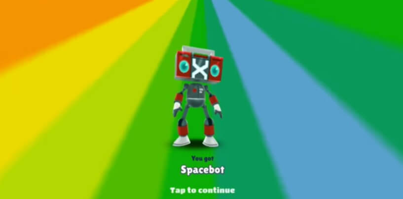 Subway Surfers Space Station new character