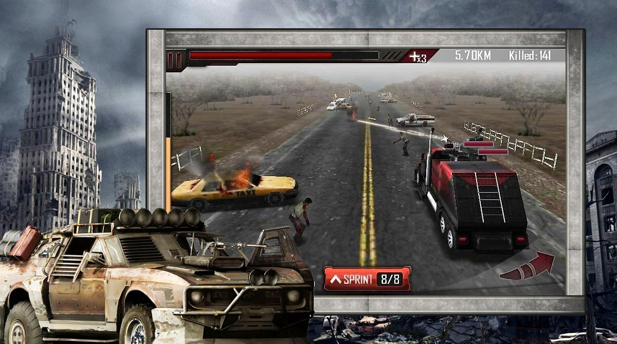 Zombie Roadkill 3D download free