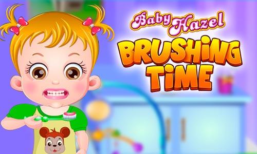 Play Baby Hazel Brushing Time on PC