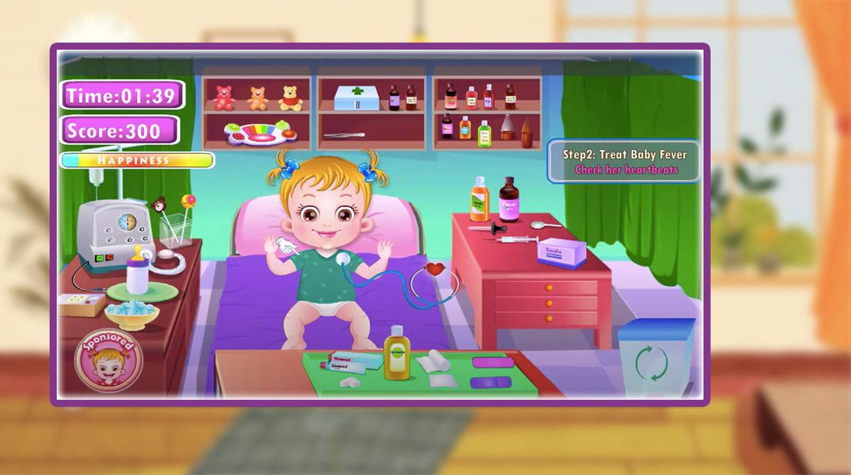 baby hazel goes sick download PC