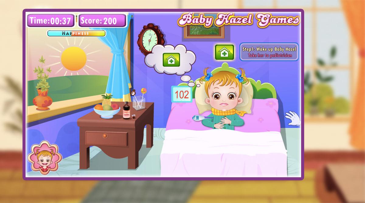 baby hazel goes sick download free